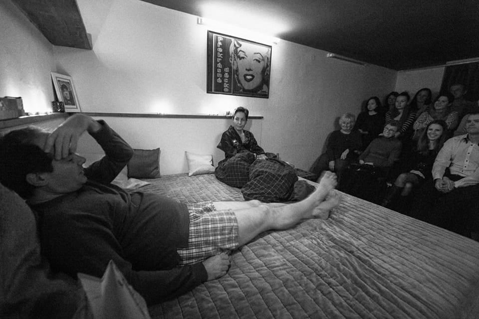 David Ives To nemá chybu_Divadelní spolek Kašpar/ Bytové divadlo 23.11.2014