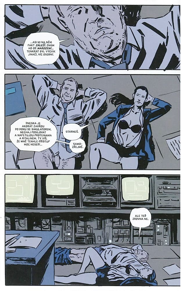 komiks Zero: Krize