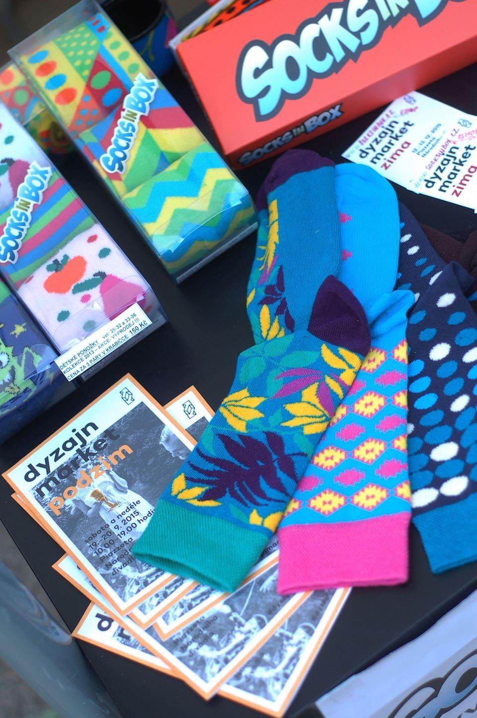Dyzajn market ponozky