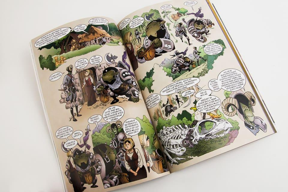 Středověké porno komiksy