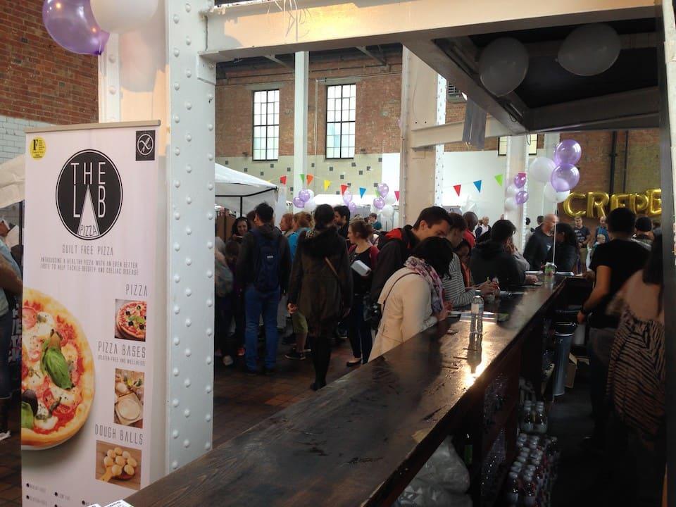 Londyn - food festival