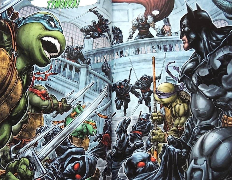 Recenze komiksu  Batman   Želvy Nindža – Kulturio.cz 7243c453e6