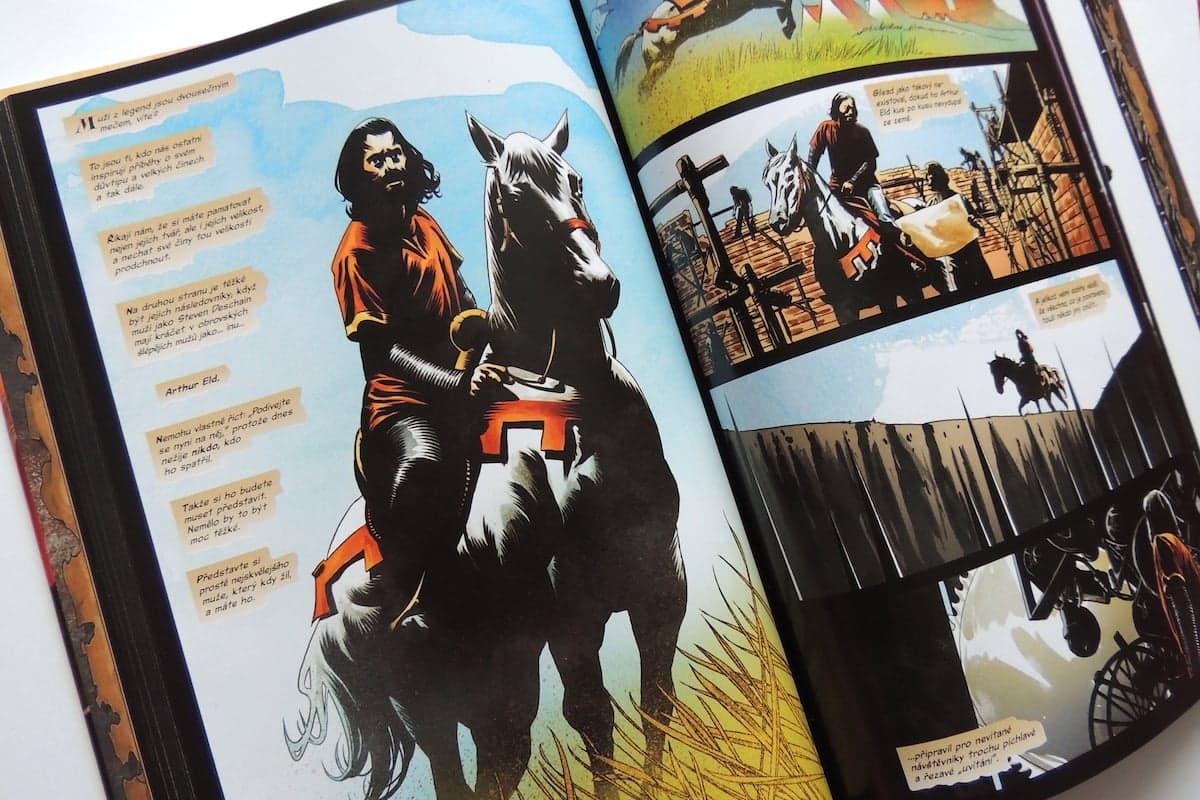Recenze komiksu - Temná věž 4  Pád Gileadu – Kulturio.cz 1cba368144