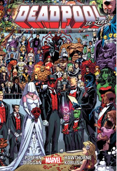 Stále populární série Deadpool od vydavatelství Crew se dočkala dalšího  pokračování. Tentokrát se hlavní hrdina ocitne v neobvyklé roli – bude se  ženit. 66a133c8bb