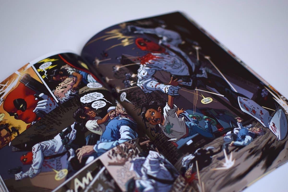 Komiksová recenze  komiks Deadpool – Prvotní hřích – Kulturio.cz ddd717def8
