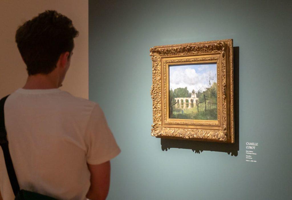 Obraz Camille Corot v Paláci Kinských