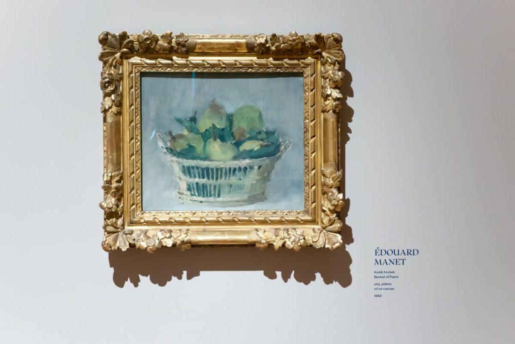 braz Édouarda Maneta v Paláci Kinských
