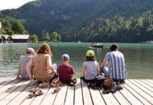 Rodina na výletě